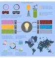 Energy infographics set vector image vector image