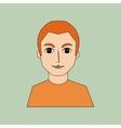 gentleman avatar design vector image vector image