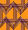 Geo pattern11 vector image vector image