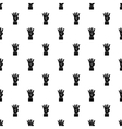 Hand gesture four fingers pattern simple style vector image vector image