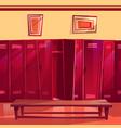 locker room gym seamless vector image vector image