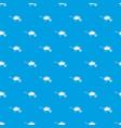 wheelbarrow with sand pattern seamless blue vector image vector image