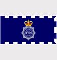 MET police flag vector image vector image
