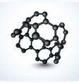 nanotube vector image