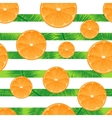 Orange striped background Seamless vector image
