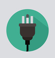 Plug design vector image vector image