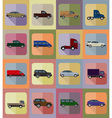 transport flat icons 20 vector image vector image