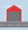 warehouse icon image vector image vector image