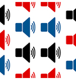 Wi-Fi symbol seamless pattern vector image