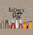 fathers day background best dad vector image