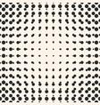halftone circles seamless pattern half tone dots vector image