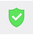 green check mark icon set vector image