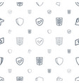 insignia icons pattern seamless white background vector image vector image