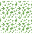 Marijuana background set vector image vector image