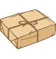 Parcels Wrapped in Rope Icon vector image vector image