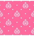 princess seamless background vector image vector image