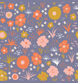 seamless pattern with flat stylized vector image
