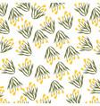 flowers background design vector image vector image