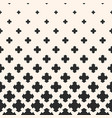 halftone pattern gradient transition effect vector image vector image