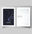Layout of a4 format cover mockups design