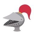 Medieval helmet cartoon icon vector image vector image
