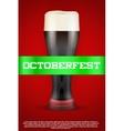 Octoberfest beer poster vector image vector image