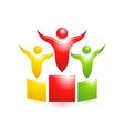 pedestal icon vector image vector image