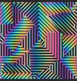 spectrum color geometric pattern vector image vector image