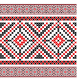 ukrainian pattern 04 vector image vector image