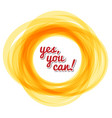 yes you can - text in the solar circle vector image