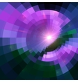 Violet abstract circle tiled background vector image