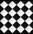 black and white circle pattern background design vector image vector image