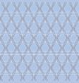 blue delicate lines symbolic geometric repeat vector image vector image