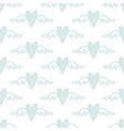 hand drawn hearts seamless pattern vector image