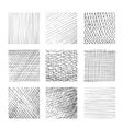 Hatching textures cross lines canvas pattern