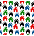 Home icon seamless pattern vector image