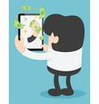 make money online vector image vector image
