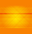 orange geometric abstract background with copy vector image vector image