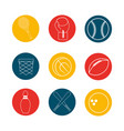 sport game background icon vector image vector image