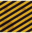 Grunge striped cunstruction background vector image