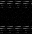 black and white geometrical seamless circle vector image vector image