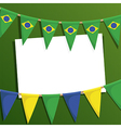 brazil decoration vector image vector image