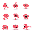 BUBBLE GUM CHARACTER vector image