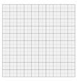 Gray grid paper vector image