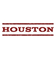 Houston Watermark Stamp vector image vector image