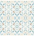 oriental pattern with arabesques elements vector image vector image