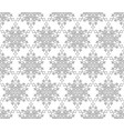 ornamental lacy regular oriental ornament snow vector image