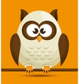 Owl character design vector image vector image