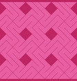 pink squares and lines geometric design repeat vector image vector image