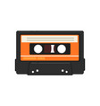 Retro audio music cassette tape